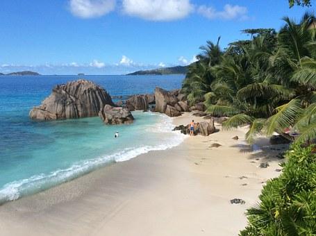 long-haul destination - the Seychelles
