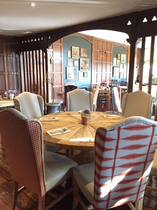 Burley Manor restaurant