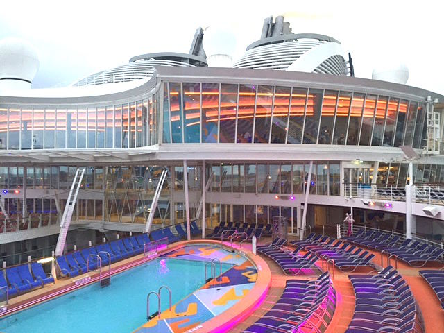 The world's largest cruise ship