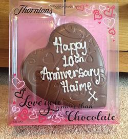10 year anniversary gift