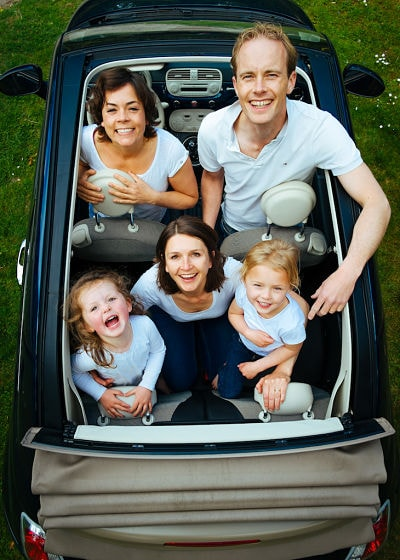 Child-free travel on transport?