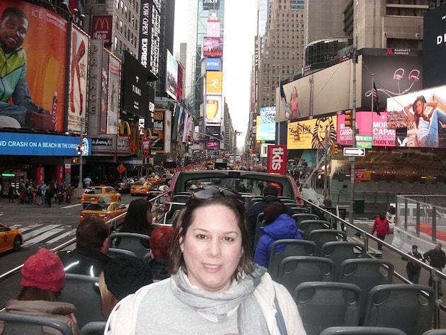 A whistle-stop break in New York