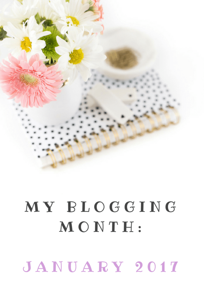 My blogging month: January 2017