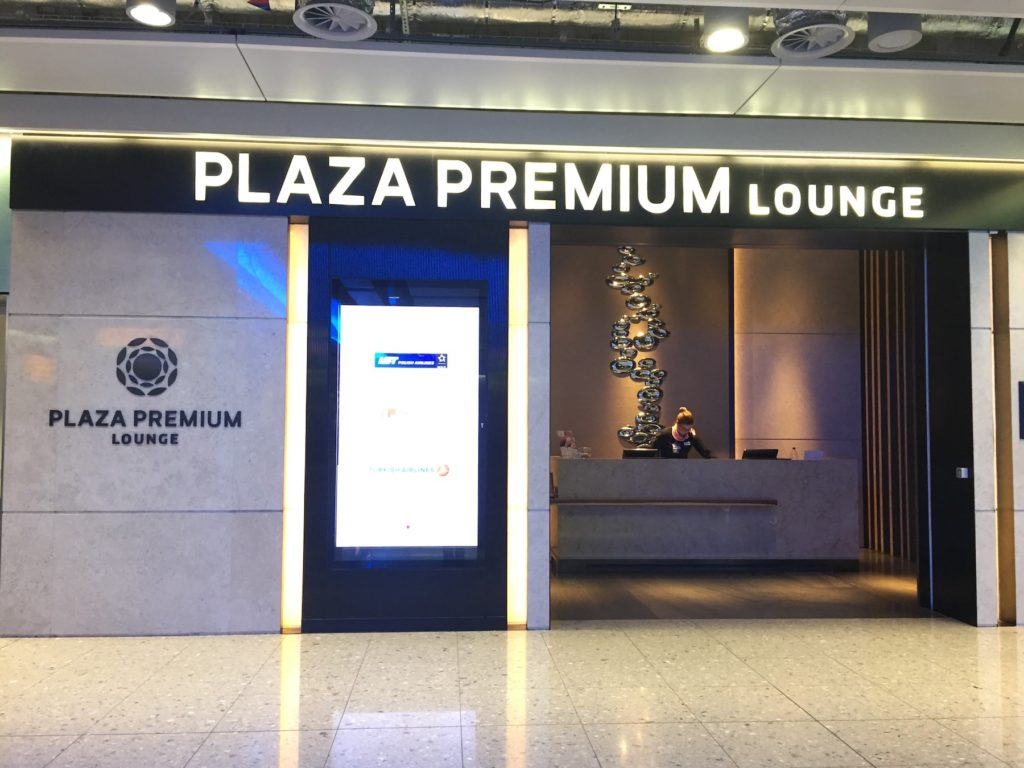 Review of Plaza Premium Lounge at Heathrow T2