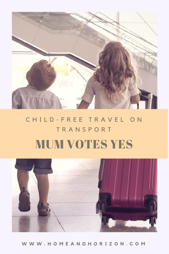 CHILD-FREE TRAVEL ON TRANSPORT