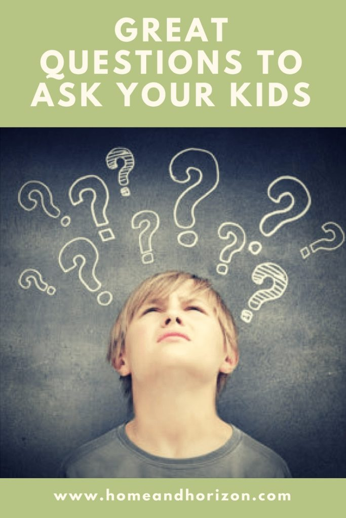 I came across the Great Questions To Ask Your Kids quiz on Facebook and was intrigued as to how my kids viewed me & my life - give it a go...it's great fun!