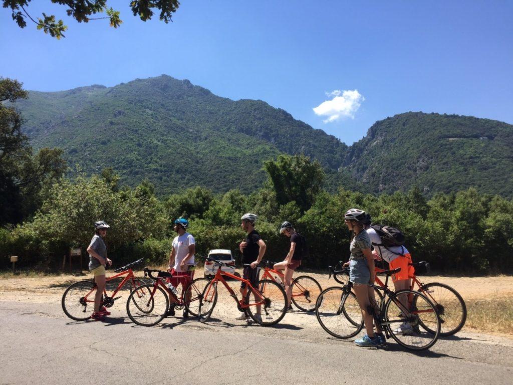 Cycling at Mark Warner's San Lucianu Resort in Corsica
