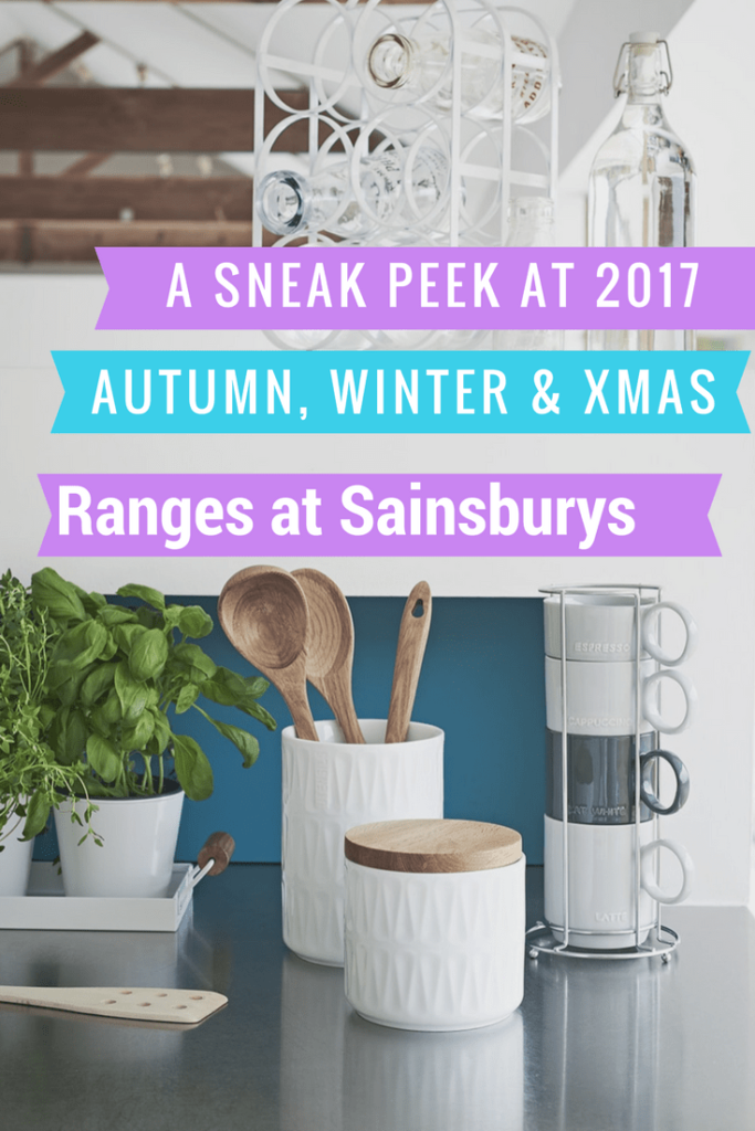 New seasonal ranges at Sainsbury's