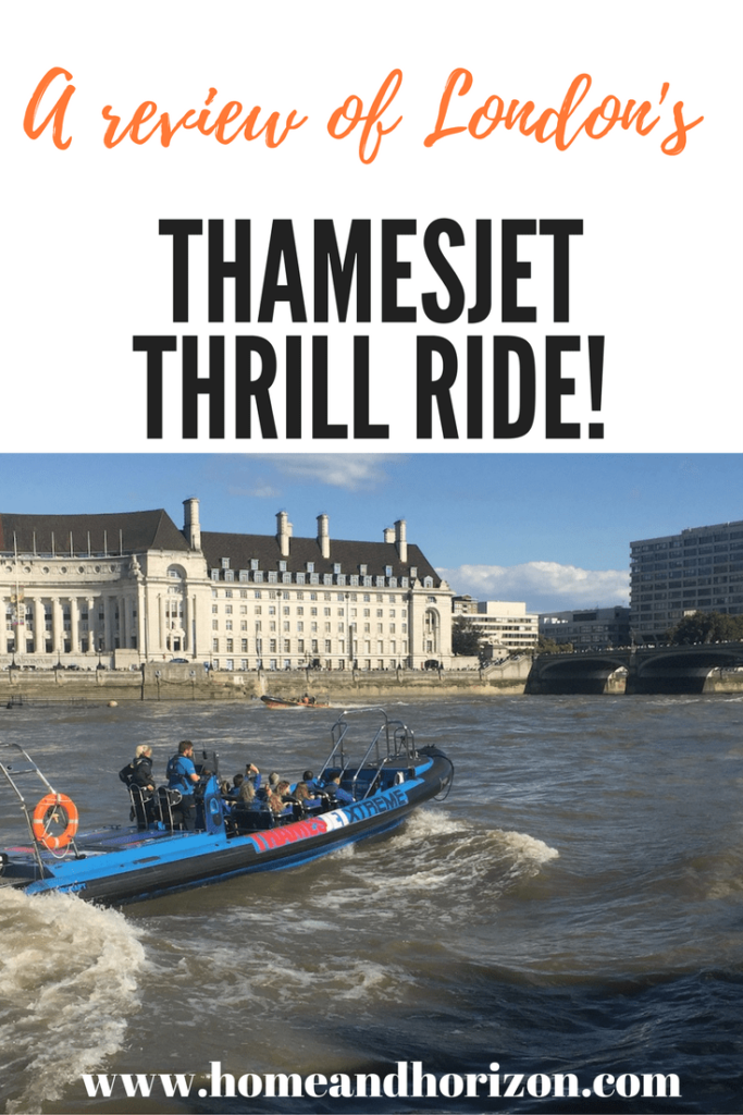 ThamesJet Thrill Ride