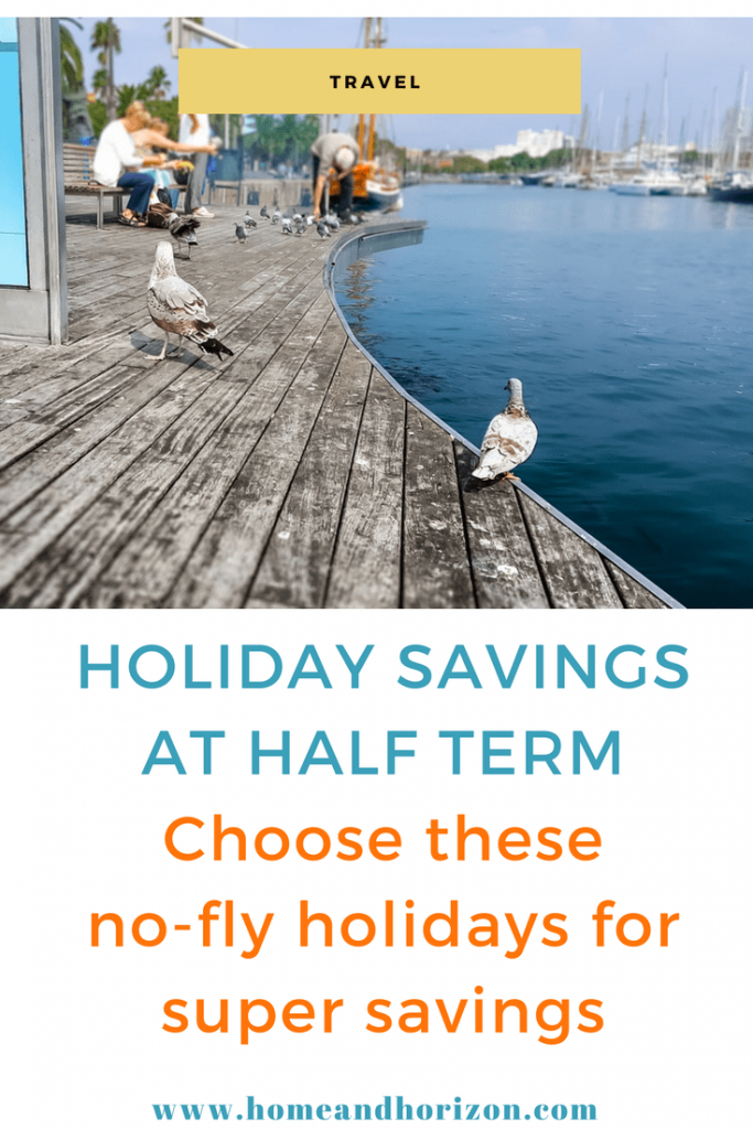Half terms holiday savings
