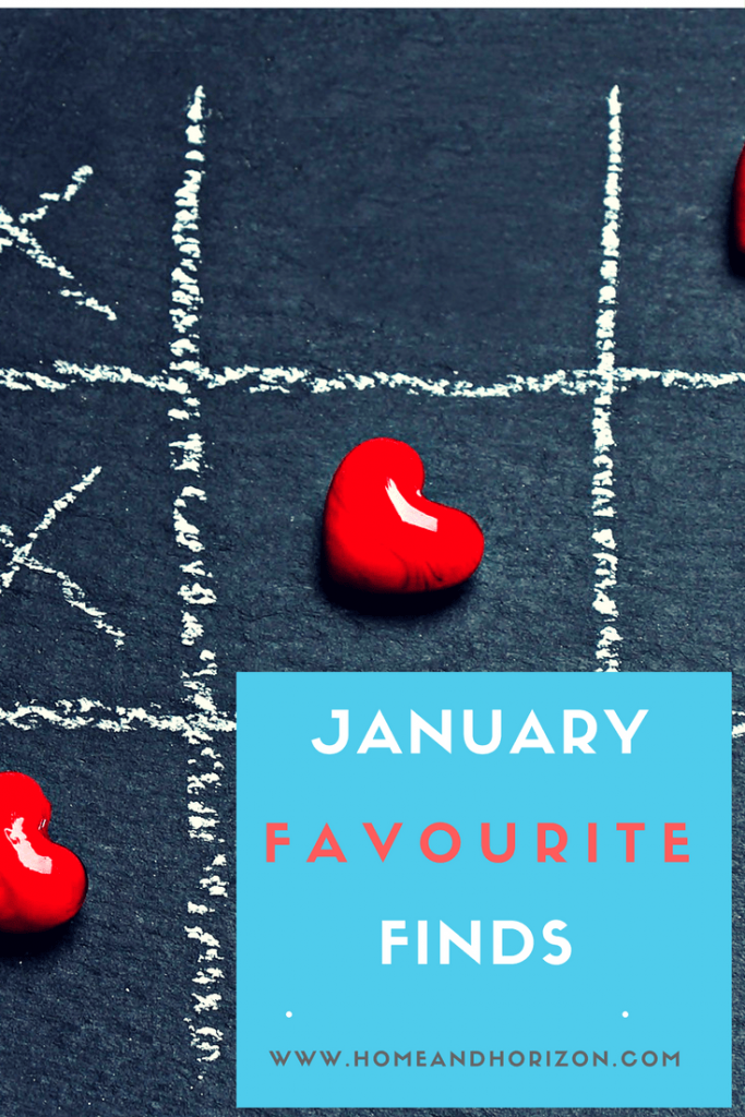 My new blog section 'Favourite Finds' follows what's new this month and what I've given the nod of approval – here's January's post!