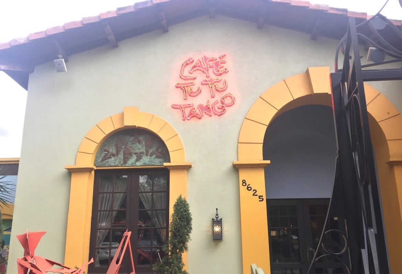 Café Tu Tu Tango on International Drive, Orlando, Florida