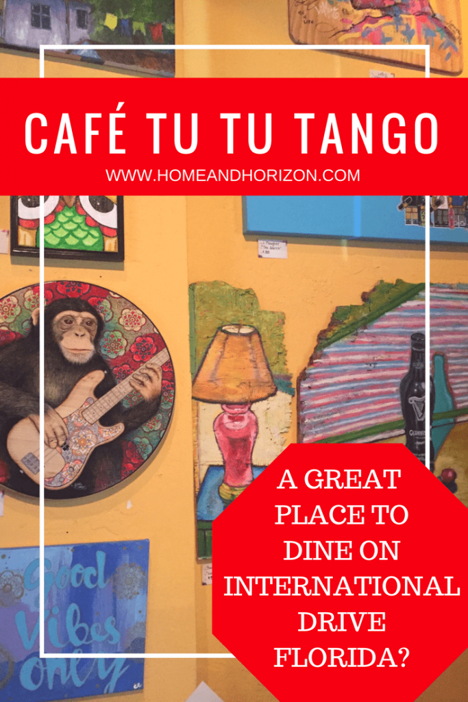 If you're staying on International Drive, Orlando, Florida, then consider dinner at Café Tu Tu Tango for something that little bit different. Check out what I thought!