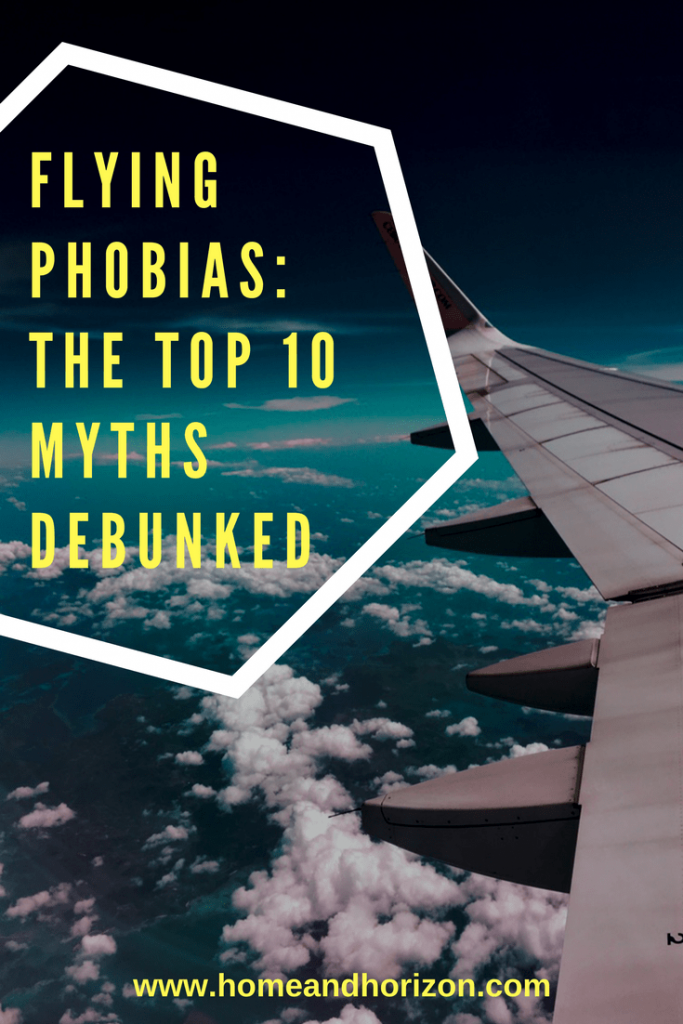 Do you have a flying #phobia? Don't let the myths prevent you from taking #flights!  Here's 10 myths that are debunked!