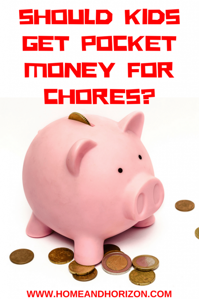 Do you believe that #kids should be rewarded with pocket money for #chores? Here's the results - and some alternative non-monetary payments your kids will thank you for