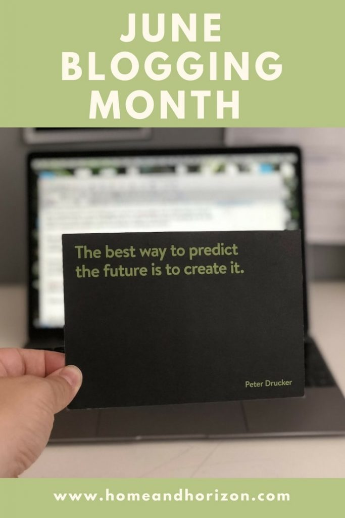 June Blogging Month