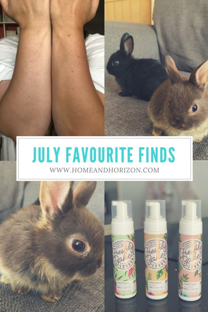 It's my July Favourite Finds where I highlight things I've discovered & loved this month. July is my favourite month as I got 2 very special birthday gifts!
