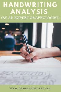 Ever wondered what it's like to have your handwriting analysed by an expert graphologist? Read on to find out what happens!