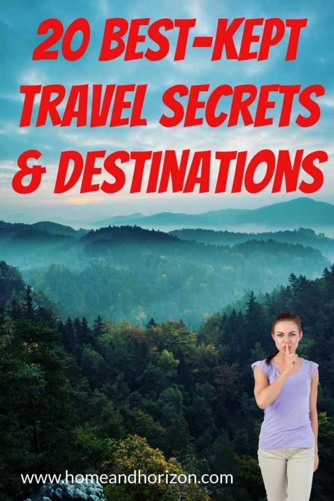 If you're an #adventure #traveller who is always on the look out for the best-kept #travel secrets and destinations here's 20 of the best!