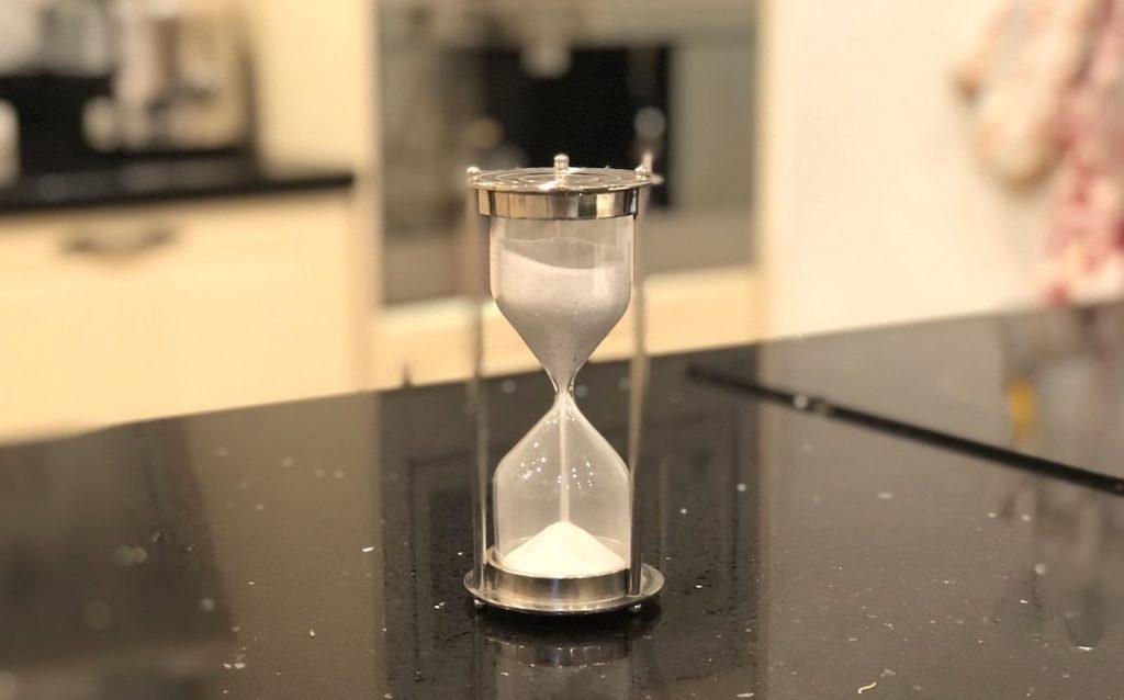 October Favourite Finds sand timer
