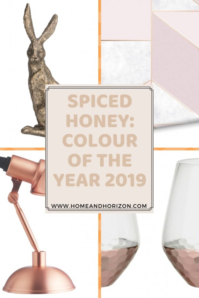 Spiced Honey is Dulux's Colour Of The Year 2019 so I've scoured the web to bring you the best affordable #homewares to keep bang on trend