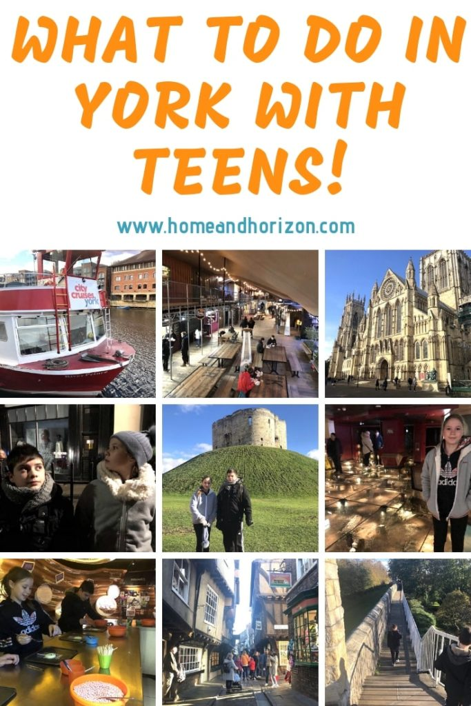 If you've got tweens or teens are are looking for a great short UK break - York could be the answer. Here's what you can fit in in just two days!