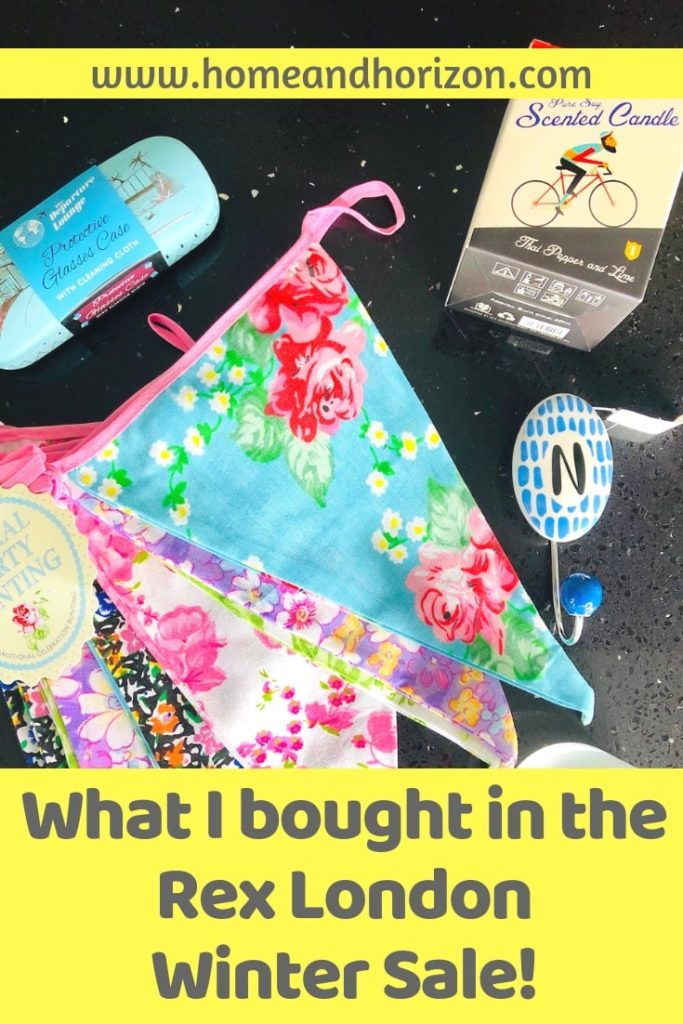 Discover what I bought in the Rex London Winter Sale - and how much I saved!
