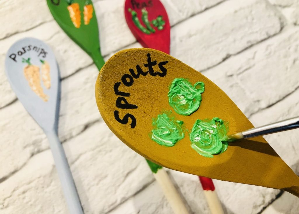 Upcycle Wooden Spoons