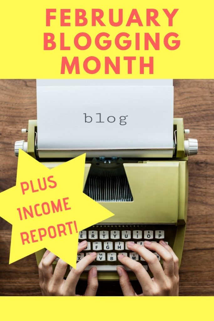 In my February #Blogging Month and Income Report I reveal who I've work and collaborated with, what I've been up to and who I met...