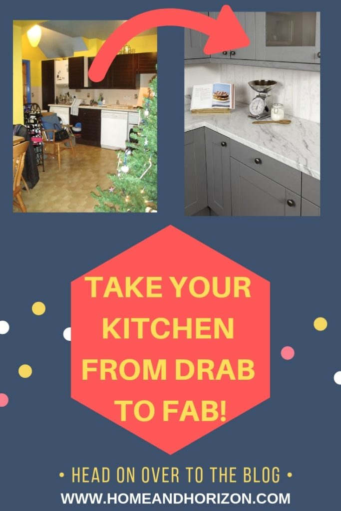 Here's a great look at what you can do to take your kitchen from drab to fab with only a few small (but significant) changes