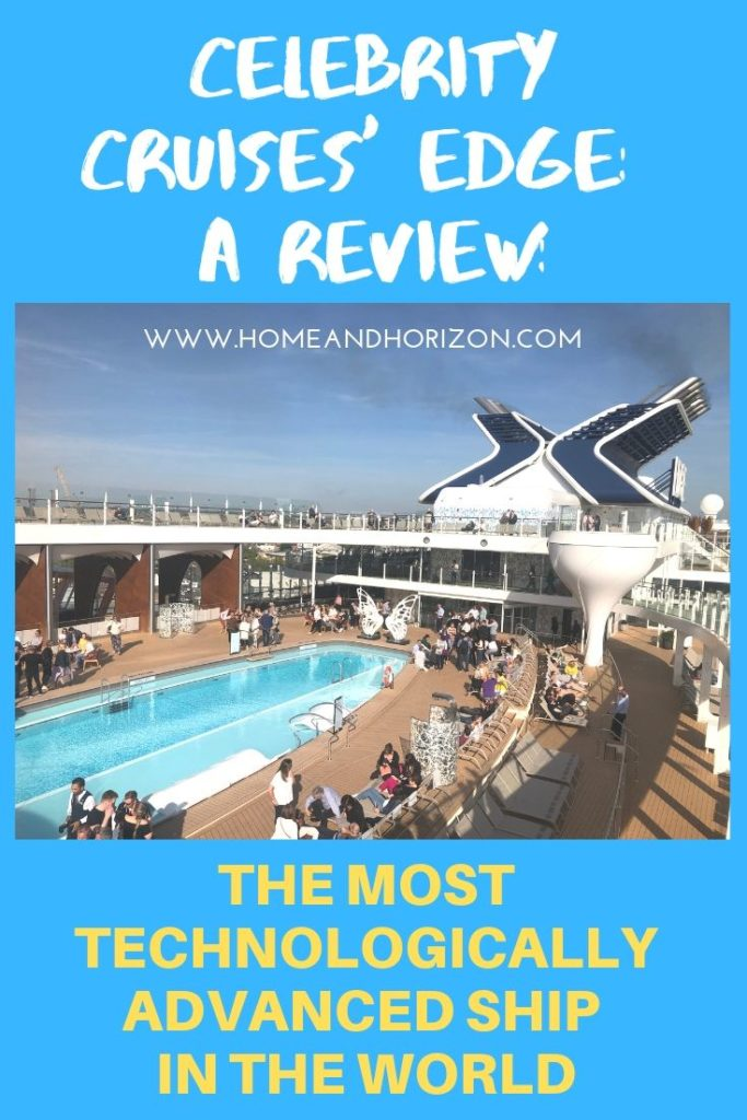 I was invited to review the most technologically advanced ship in the world - Celebrity Cruises' Edge - see how I got on!