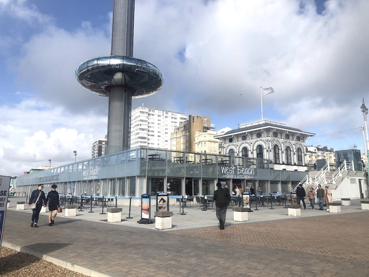 Family activities on a day trip to Brighton
