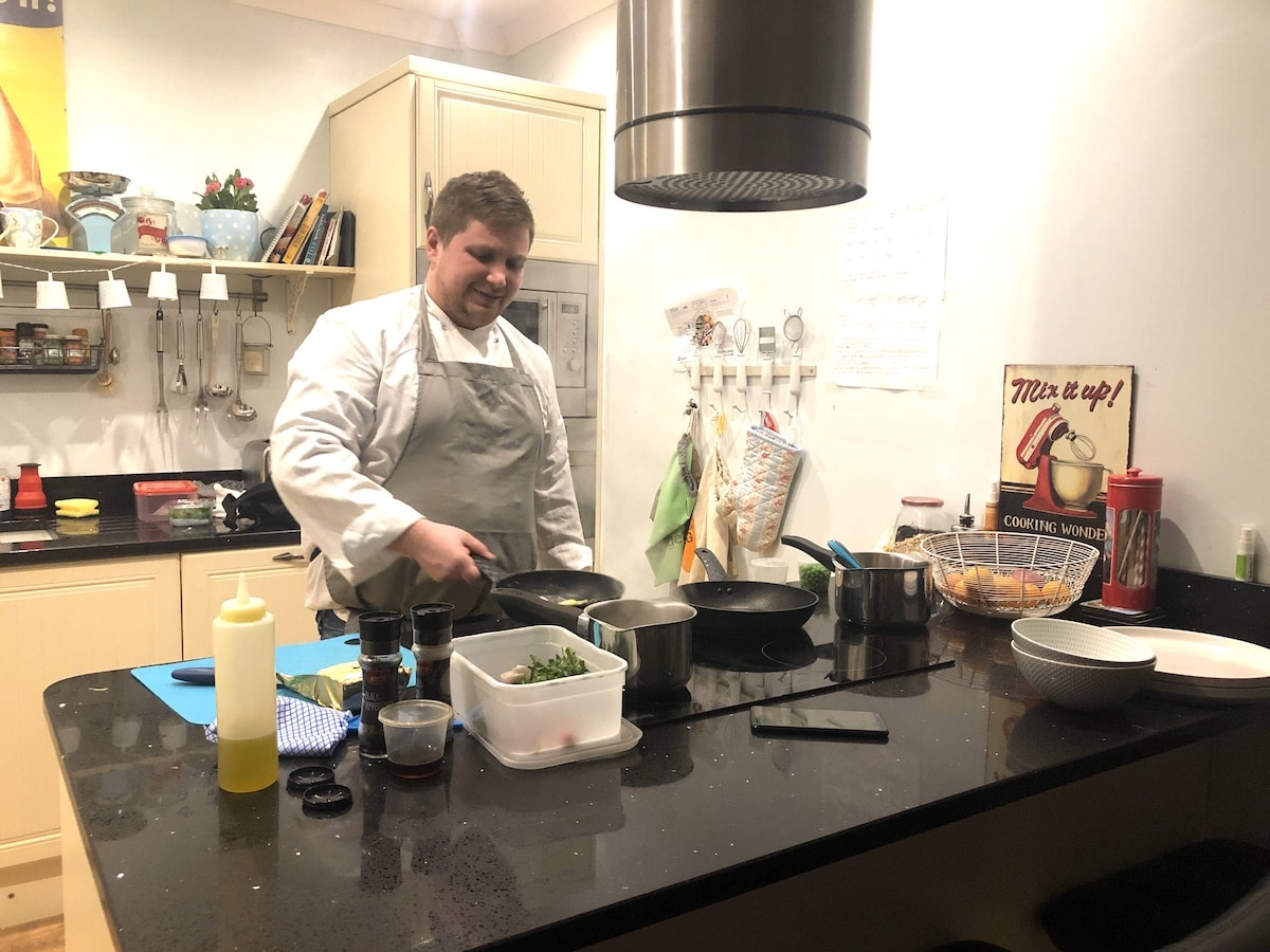 eho chef private dining at home a review