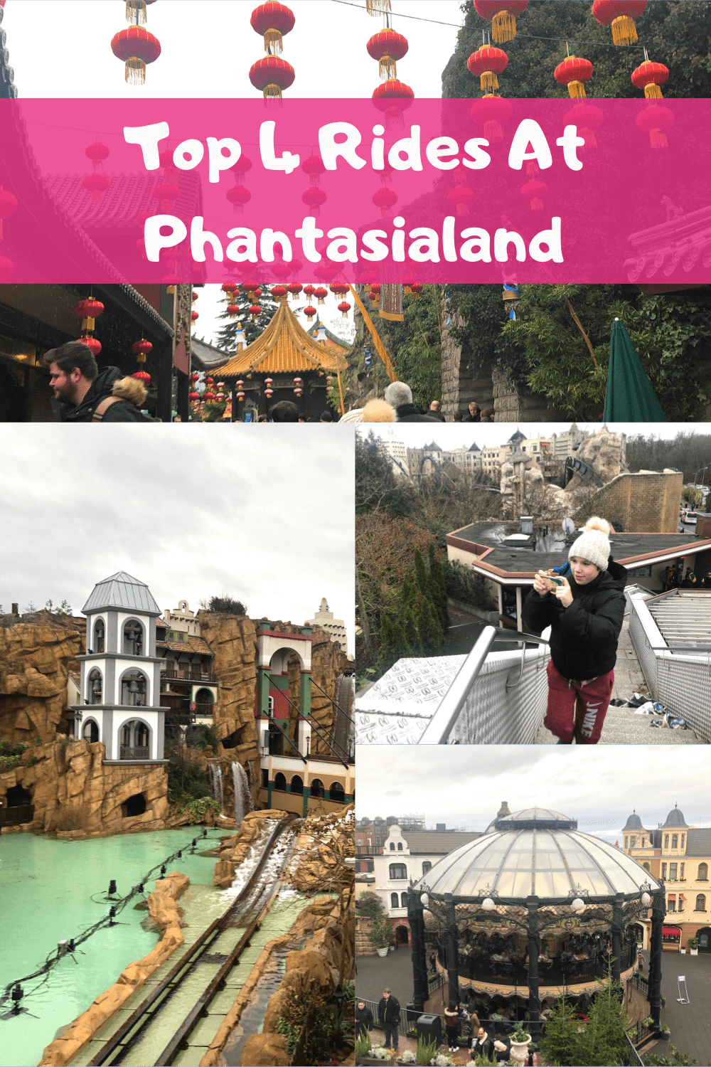 If you're heading to #Phantasialand - here are the top 4 rides you'll want to go on!