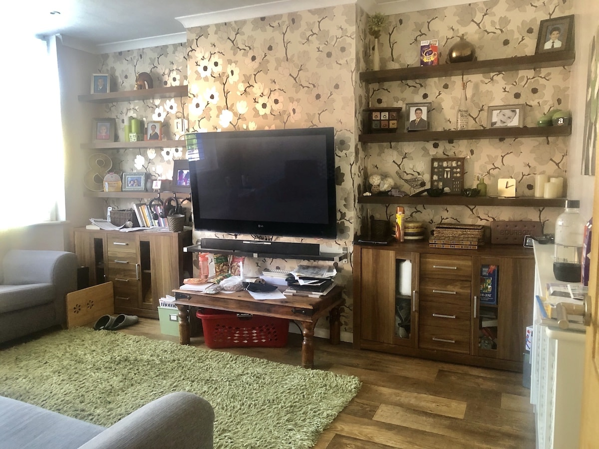The old living room - Graham and Brown inspired
