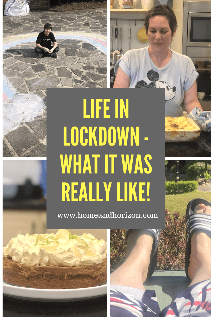 Find out what life in lockdown was like for our family and what we got up to